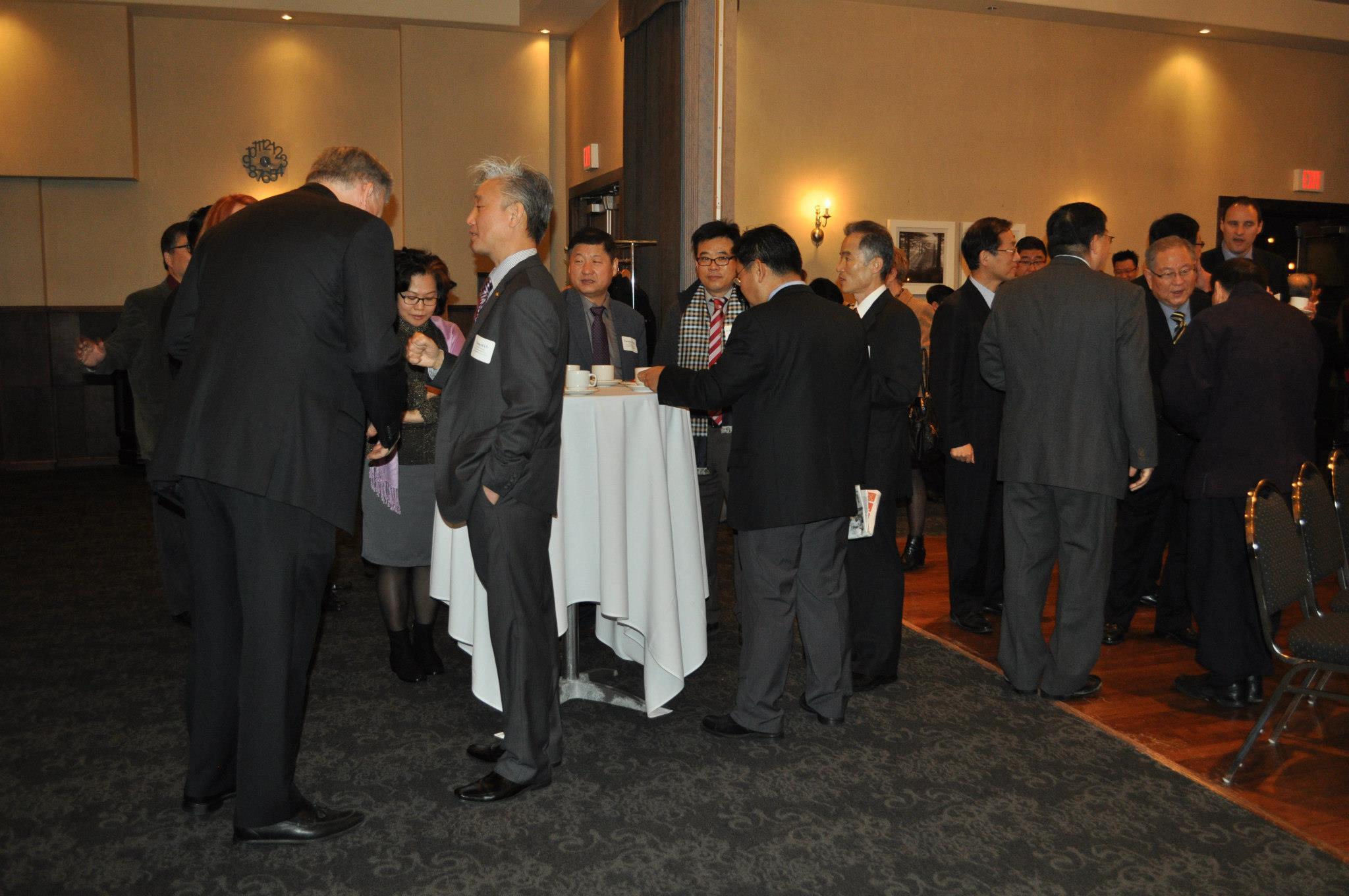 Canada Korea Free Trade Agreement Networking Breakfast Canada